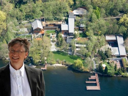 Sự thật về khu biệt thự 123 triệu USD của Bill Gates - 1
