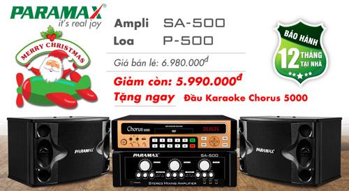 Cơ hội lớn nhất trong năm để sở hữu bộ dàn karaoke Paramax với ưu đãi bất ngờ - 1