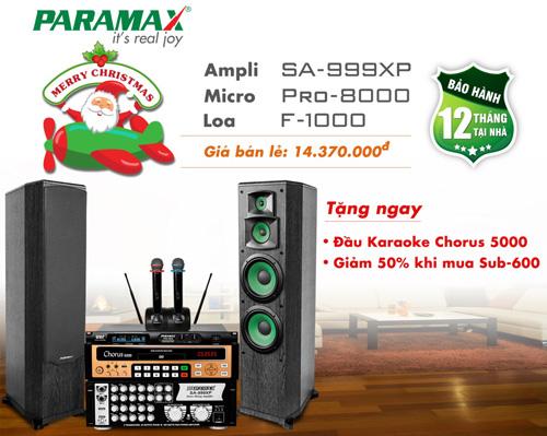 Cơ hội lớn nhất trong năm để sở hữu bộ dàn karaoke Paramax với ưu đãi bất ngờ - 3