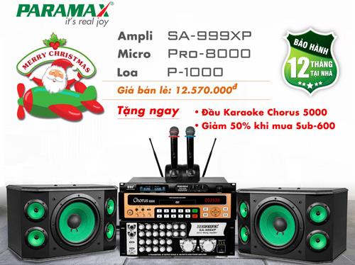 Cơ hội lớn nhất trong năm để sở hữu bộ dàn karaoke Paramax với ưu đãi bất ngờ - 4