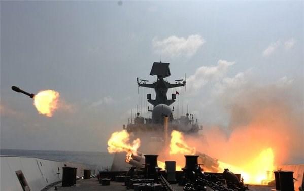 TQ đưa chiến hạm, tàu ngầm tới Biển Đông tập trận - 1