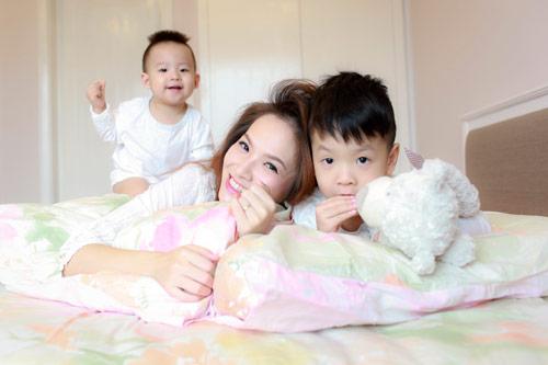 Đan Lê chia sẻ bí quyết phòng bệnh cho con - 3