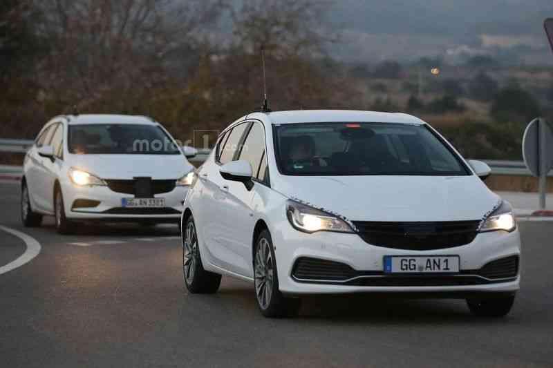 Lộ diện mẫu xe Opel Astra GSI 2016 - 2