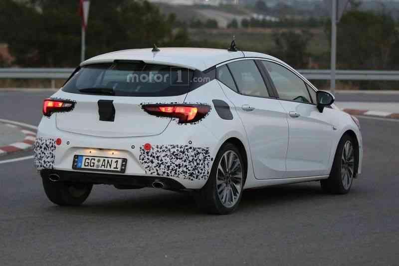 Lộ diện mẫu xe Opel Astra GSI 2016 - 3