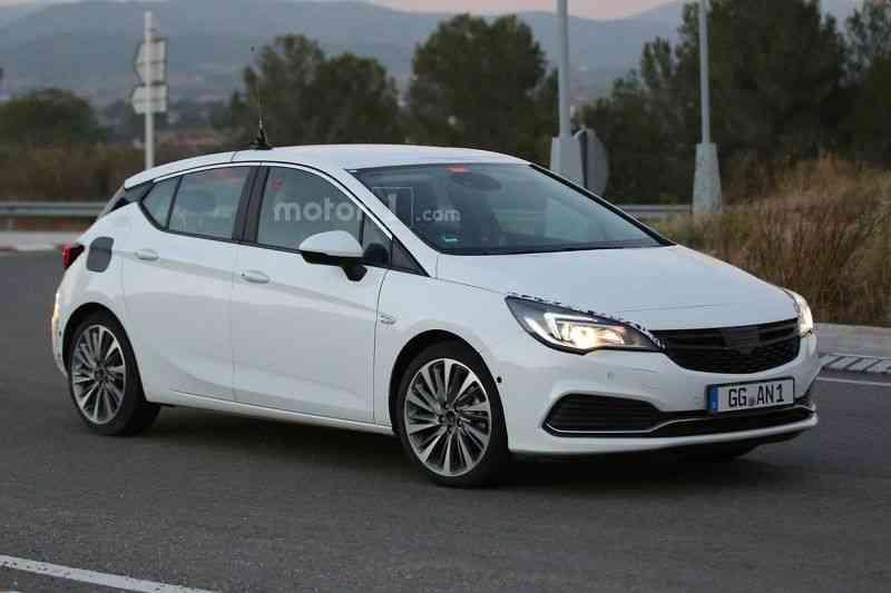 Lộ diện mẫu xe Opel Astra GSI 2016 - 4
