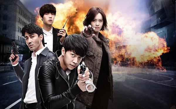 Lee Seung Ki đối đầu đàn anh trong phim mới - 1