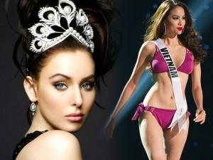 Thời trang - Cựu hoa hậu Hoàn vũ dự đoán Phạm Hương về nhất