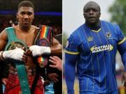 Thể thao - Cầu thủ khỏe nhất hành tinh thách đấu nhà vô địch boxing