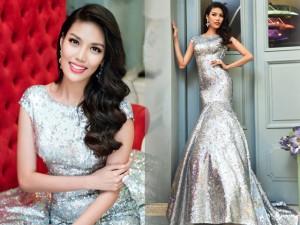 Thời trang - Hé lộ trang phục Lan Khuê mặc ở đêm chung kết HHTG