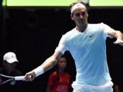 Thể thao - Tennis Ngoại hạng: Federer tỏa sáng