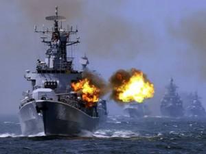 TQ đưa chiến hạm, tàu ngầm tới Biển Đông tập trận
