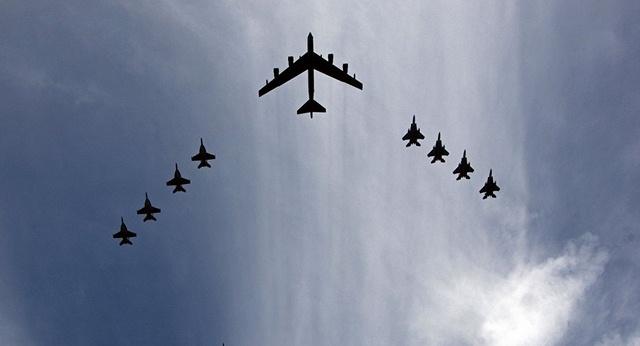 Mỹ tập trận khả năng tác chiến hạt nhân - 1