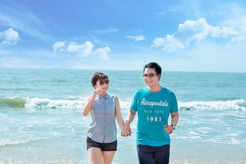 Cặp uyên ương Singapore đẹp lung linh giữa biển trời Việt - 20