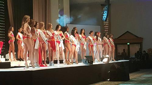 Á hậu Hà Thu vào top 17 Hoa hậu Liên lục địa - 5