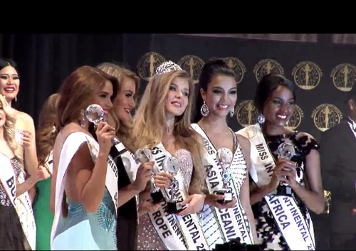 Á hậu Hà Thu vào top 17 Hoa hậu Liên lục địa - 2