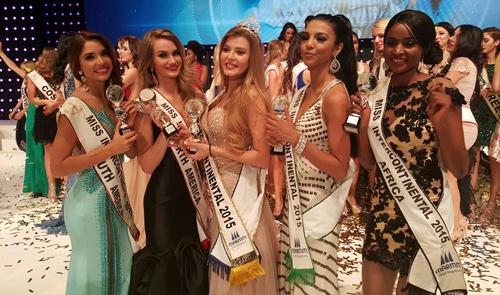 Á hậu Hà Thu vào top 17 Hoa hậu Liên lục địa - 4