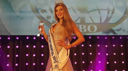 Á hậu Hà Thu vào top 17 Hoa hậu Liên lục địa - 3
