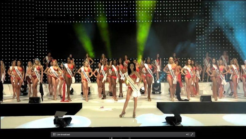 Á hậu Hà Thu vào top 17 Hoa hậu Liên lục địa - 1