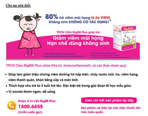 Mẹo giúp trẻ hạn chế dùng kháng sinh - 4