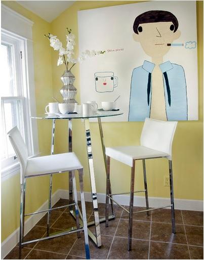 Thiết kế phòng ăn cực thông minh cho nhà diện tích nhỏ - 10