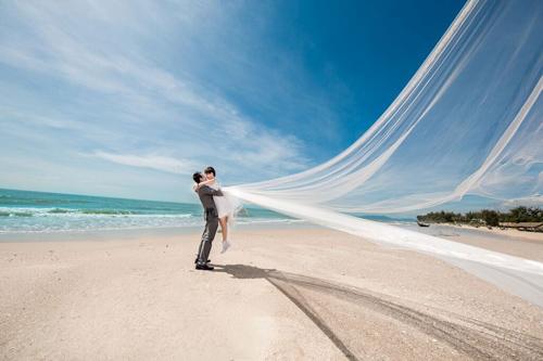 Bộ ảnh cưới giữa thiên nhiên mây trời đẹp quá - 4
