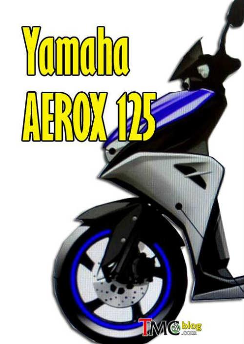 Yamaha Aerox 125 rò rỉ ảnh, sẵn sàng cho năm mới - 2