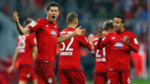 """Hannover – Bayern: Rước """"Hùm"""" vào nhà - 1"""