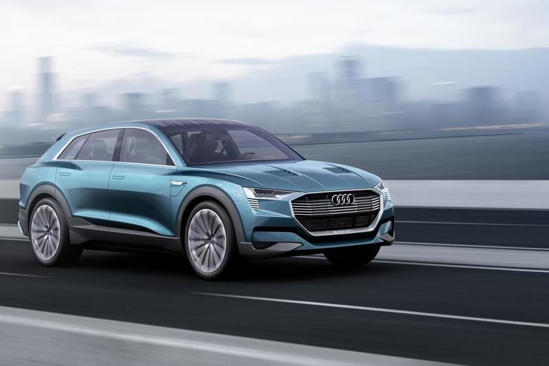 Audi H-tron quattro concept sắp ra mắt - 1