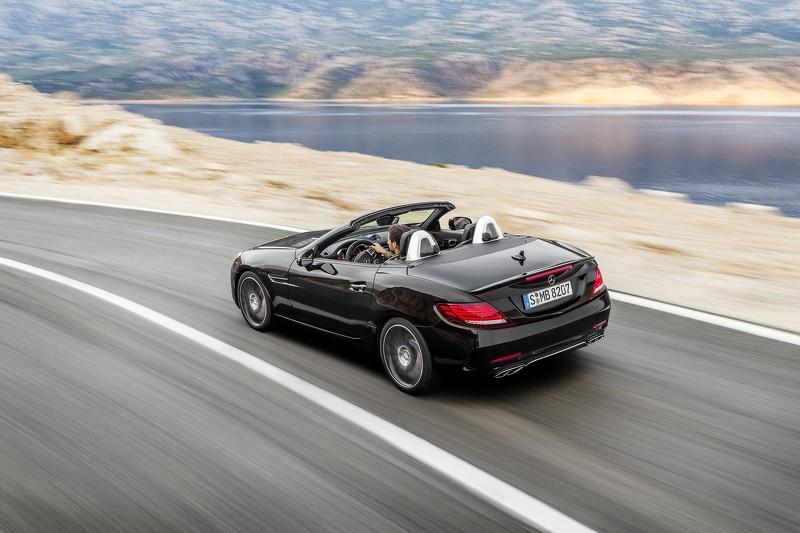 Tiết lộ mẫu xe Mercedes SLC roadster 2017 - 4