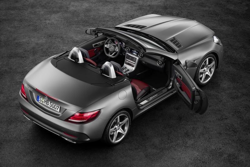 Tiết lộ mẫu xe Mercedes SLC roadster 2017 - 5