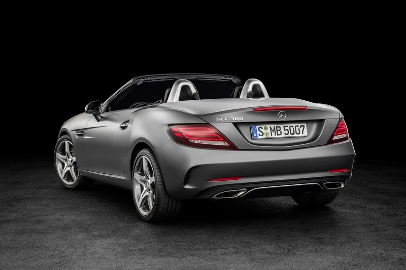 Tiết lộ mẫu xe Mercedes SLC roadster 2017 - 6