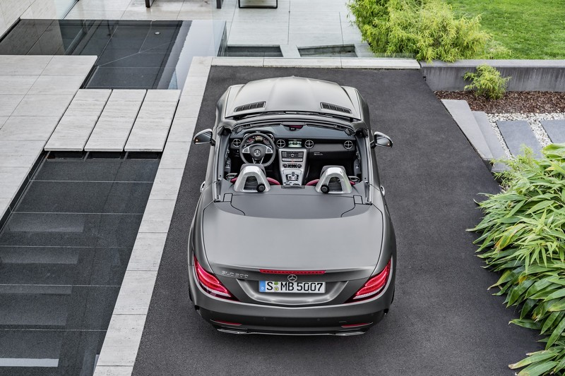 Tiết lộ mẫu xe Mercedes SLC roadster 2017 - 7