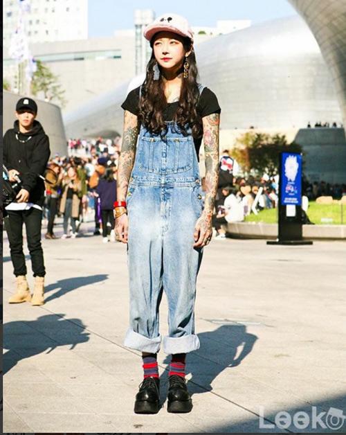 Nữ thợ xăm có vẻ đẹp búp bê gây sốt tại Hàn Quốc - 5