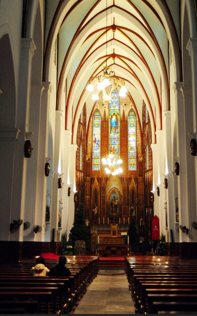 Ảnh: Các nhà thờ lớn ở HN trang hoàng lộng lẫy đón Noel - 5