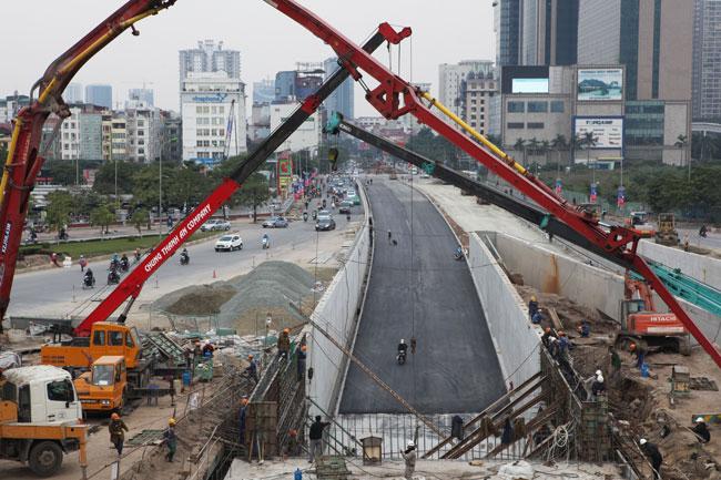 Toàn cảnh hầm chui hiện đại nhất Thủ đô sắp được thông xe - 7