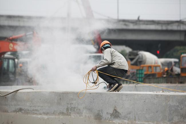 Toàn cảnh hầm chui hiện đại nhất Thủ đô sắp được thông xe - 4