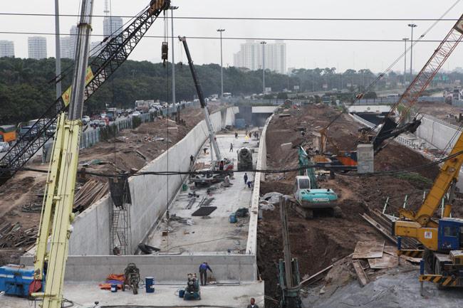 Toàn cảnh hầm chui hiện đại nhất Thủ đô sắp được thông xe - 8