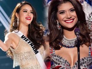 Làm đẹp - 23 đôi môi nồng nàn 'đốt nóng' bán kết Hoa hậu Hoàn vũ