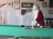 Thể thao - Bi-a: Ông già Noel phô diễn kỹ năng cực đỉnh