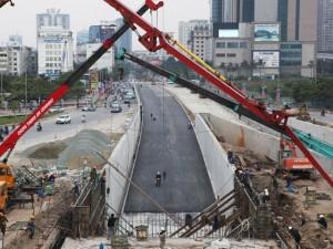Tin tức trong ngày - Toàn cảnh hầm chui hiện đại nhất Thủ đô sắp được thông xe