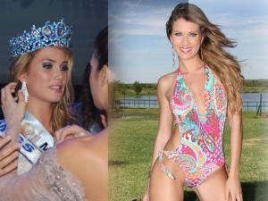 Thời trang - Vóc dáng siêu hấp dẫn của tân Hoa hậu Thế giới 2015