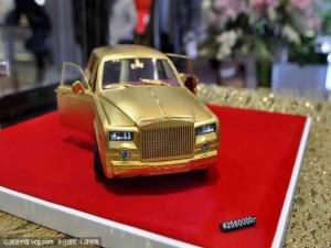 Soi mô hình Rolls-Royce – Phantom siêu tí hon