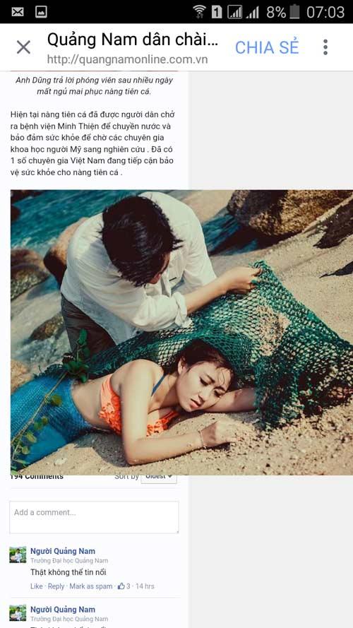 Quảng Nam: Bác tin phát hiện nàng tiên cá nặng 48kg - 2