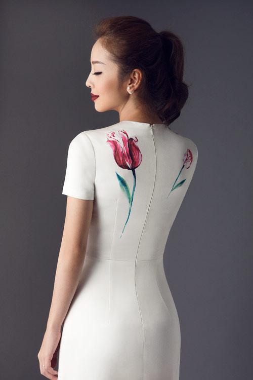 Jennifer Phạm khoe eo thon với đầm ôm sát gợi cảm - 13