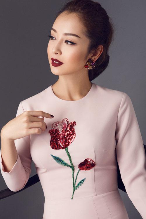 Jennifer Phạm khoe eo thon với đầm ôm sát gợi cảm - 11
