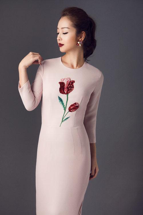 Jennifer Phạm khoe eo thon với đầm ôm sát gợi cảm - 12