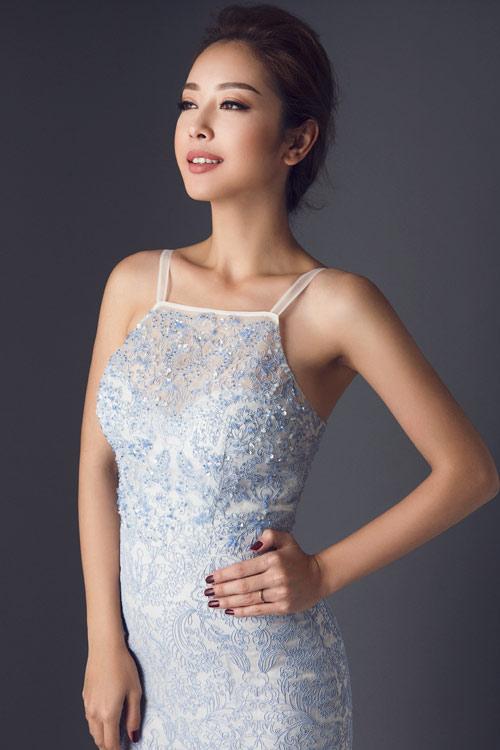 Jennifer Phạm khoe eo thon với đầm ôm sát gợi cảm - 10