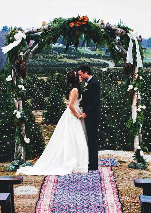 Đám cưới Giáng sinh đẹp mộng mơ như xứ cổ tích - 2