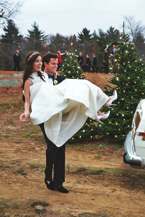 Đám cưới Giáng sinh đẹp mộng mơ như xứ cổ tích - 9