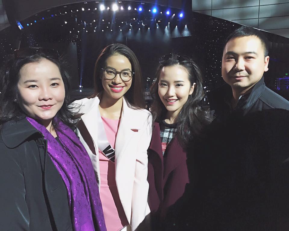 Phạm Hương sụt cân nhiều trước đêm chung kết HHHV - 1